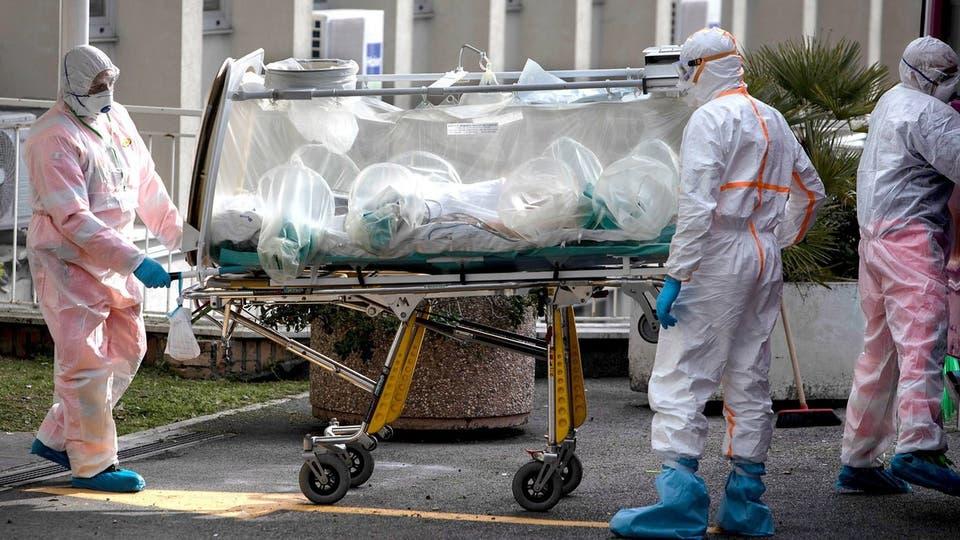 عدد وفيات الفيروس التاجي يتخطى 33000 في إيطاليا