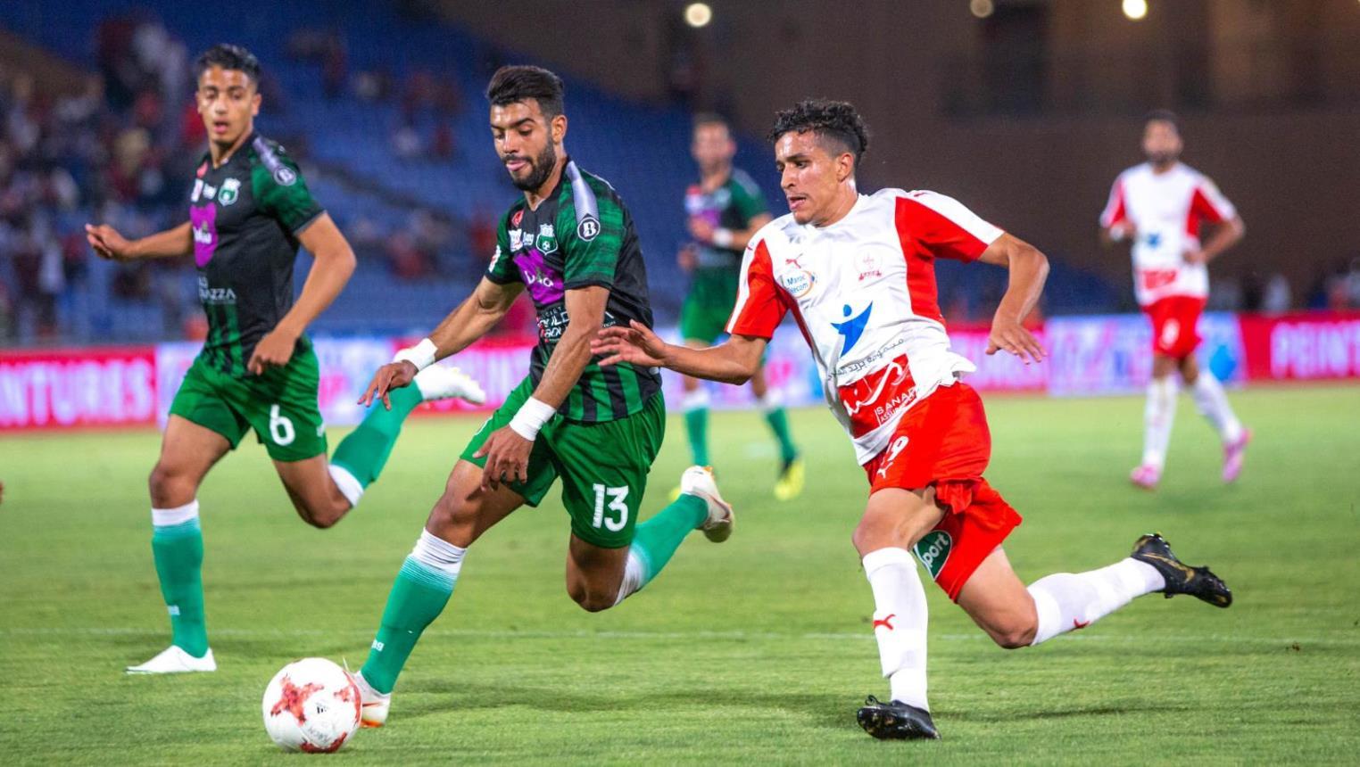 الاتحاد المغربي يُكذب تقارير إلغاء الدوري المغربي