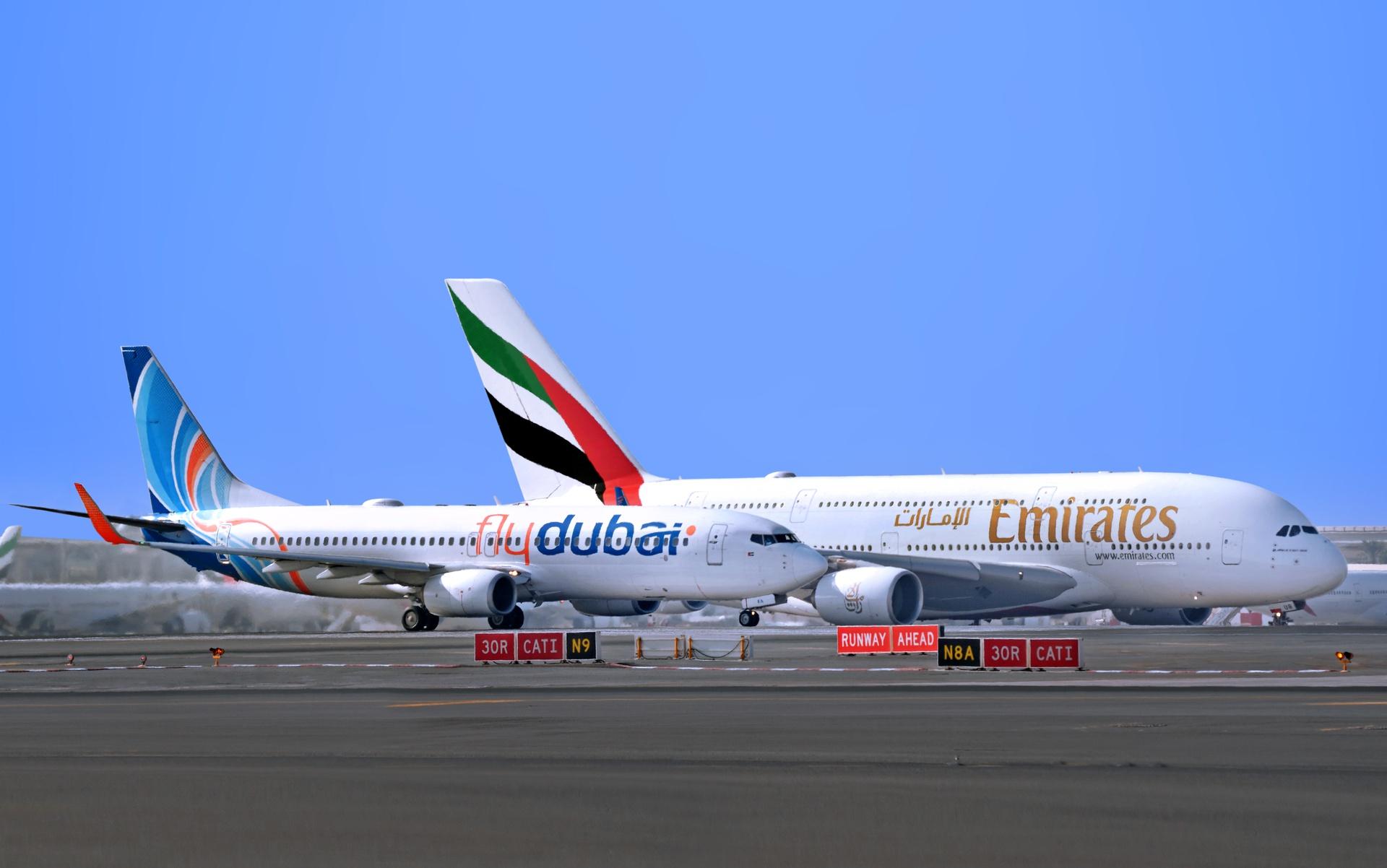 استئناف الرحلات الدولية في طيران الإمارات وفلاي دبي لـ67 وجهة من بينها 7 وجهات عربية