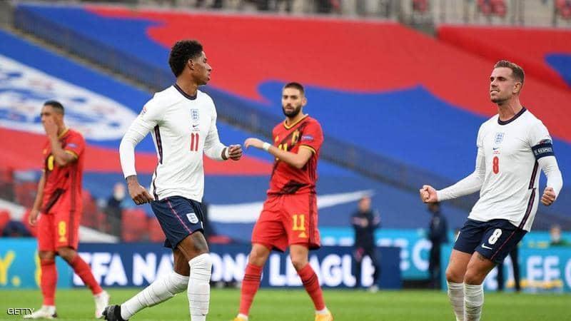 دوري الأمم الأوروبية.. الإنجليز في الصدارة بفوز صعب على بلجيكا