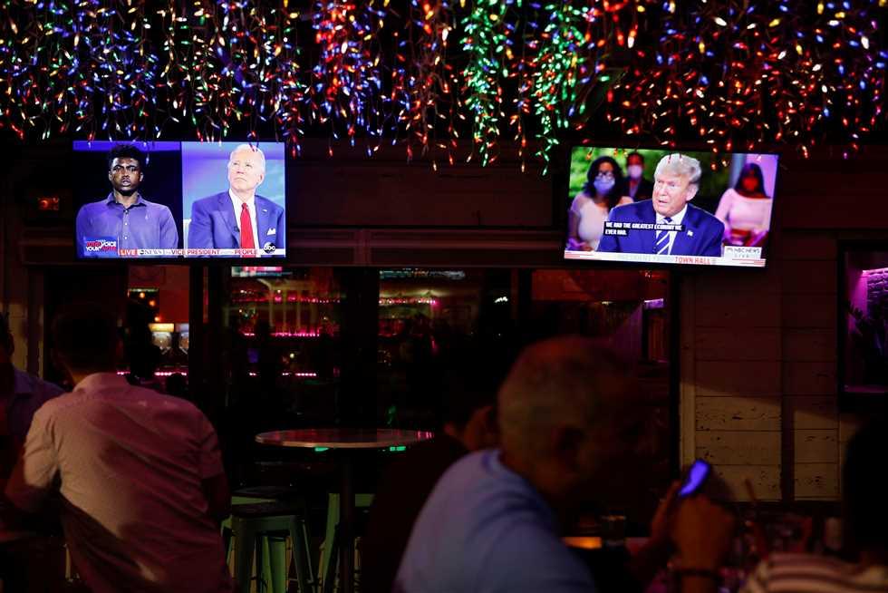 بـ13.9 مليون مشاهد.. بادين يفوز على ترامب في معركة المشاهدات التلفزيونية