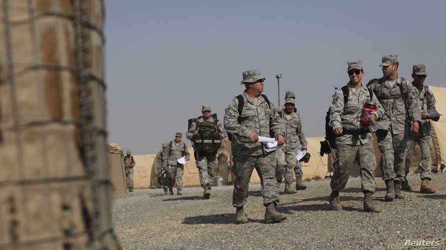 القوات الأمريكية تتهيأ لسحب أول دفعة من الأراضي العراقية