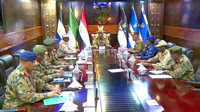 المجلس العسكري بالسودان: الوفد الإسرائيلي كان ذات طبيعة عسكرية