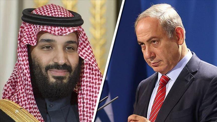 وسائل إعلام عبرية.. ولي العهد السعودي التقى بنتتياهو أمس في الرياض