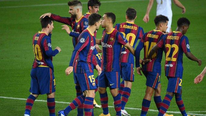 بدون ميسي.. برشلونة ضيفًا على دينامو كييف في الجولة الرابعة من دوري أبطال أوروبا
