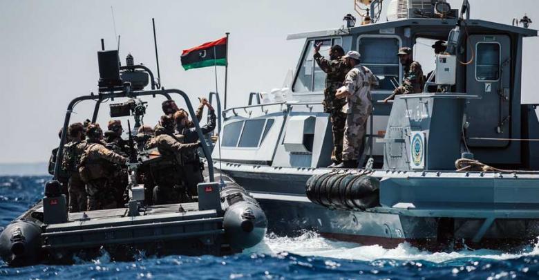 الجيش الوطني الليبي يُعلن اعتراض سفينة تركية