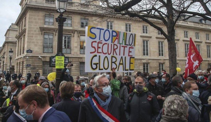 """تواصل المظاهرات الفرنسية ضد قانون """"الأمن الشامل"""""""