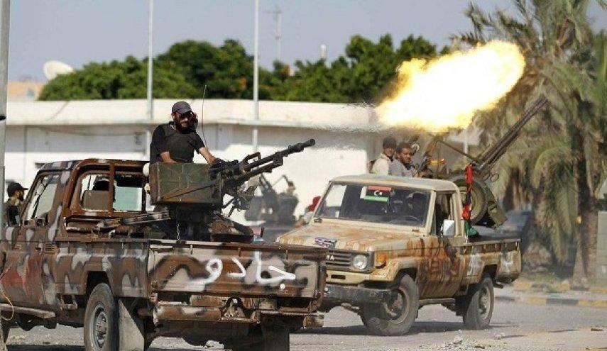 اشتباكات دامية في طبرق قبل تسلم مقر الضمان لآمر المنطقة العسكرية