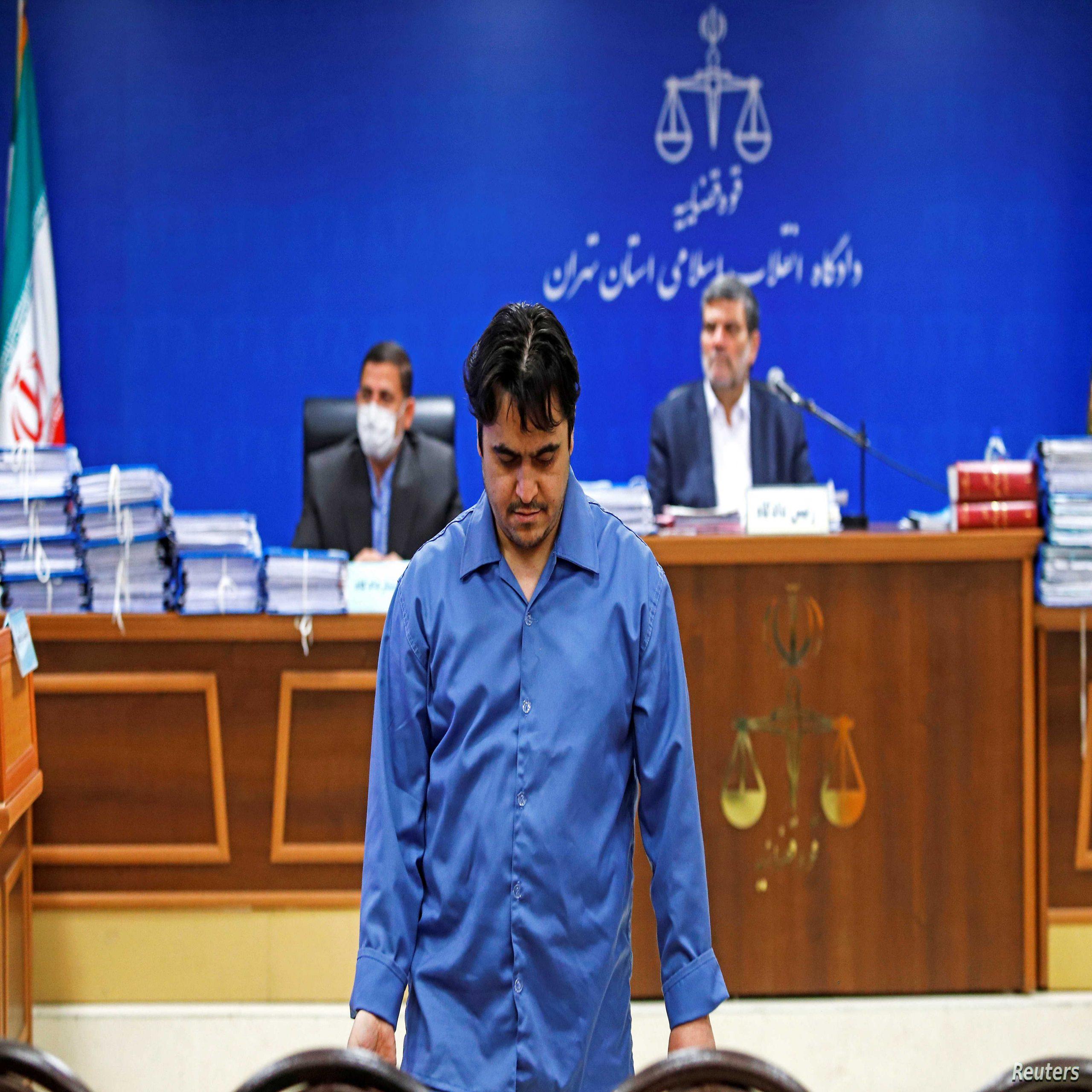 الاتحاد الأوروبي يندد بإعدام المعارض الإيراني روح الله زم
