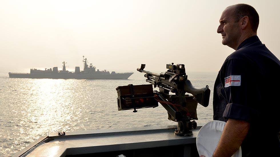 البحرية البريطانية: حركة غير مسبوقة للسفن والطائرات الحربية قرب مياهنا