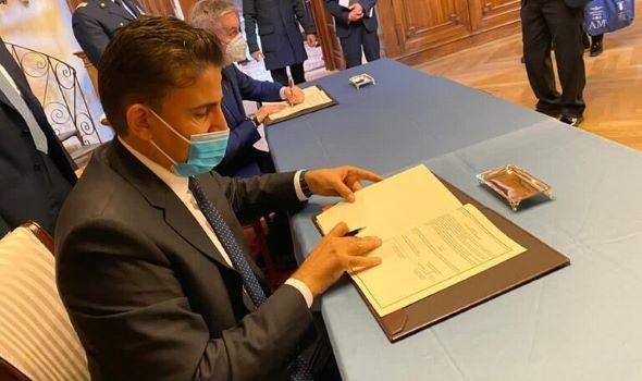 حكومة الوفاق تعلن توقيع اتفاقية عسكرية مع إيطاليا
