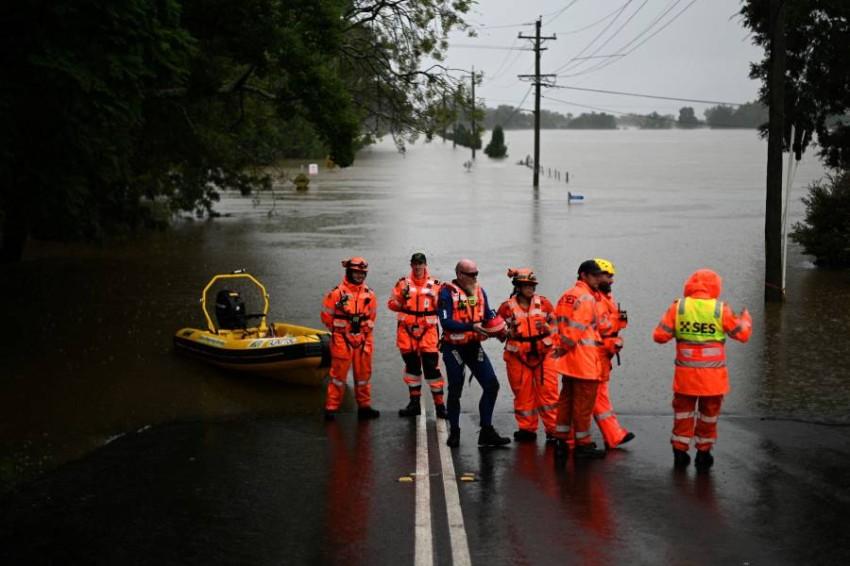 فيضانات أستراليا الأسوأ منذ عقود.. والسُلطات تُجلي نحو 20 ألف شخص