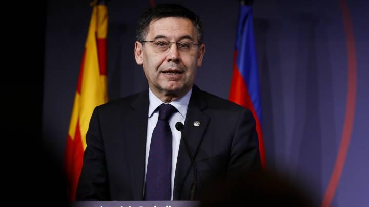 """على خلفية قضية """"برسا جيت"""".. الشرطة الإسبانية تُلقي القبض على رئيس برشلونة"""