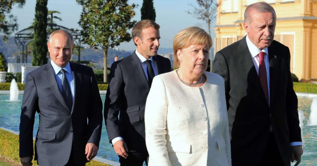 مباحثات ألمانية روسية فرنسية حول العديد من القضايا الدولية