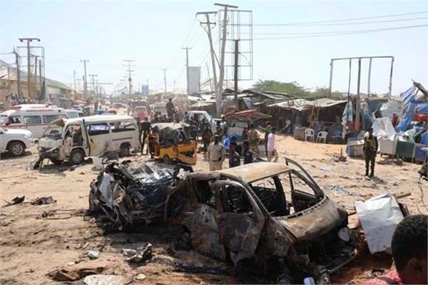 20 قتيلا و30 مصابا في حادثة انفجار سيارة مفخخة بالصومال