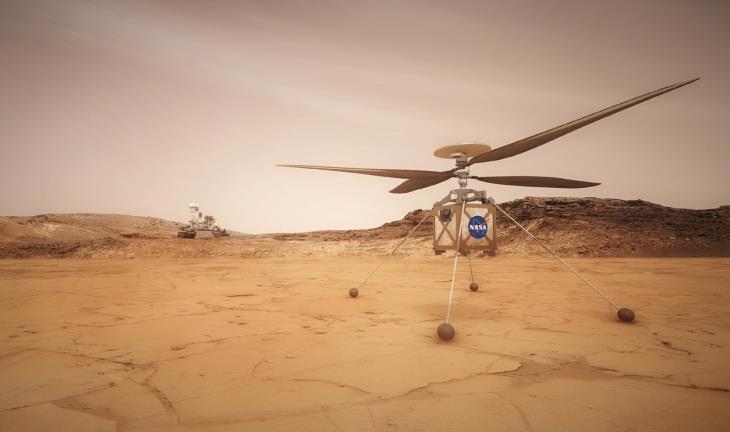 ناسا تعتزم إطلاق مروحية في كوكب المريخ