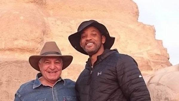 """""""ويل سميث"""" متحمس لزيارة مصر بعد موكب المومياوات"""