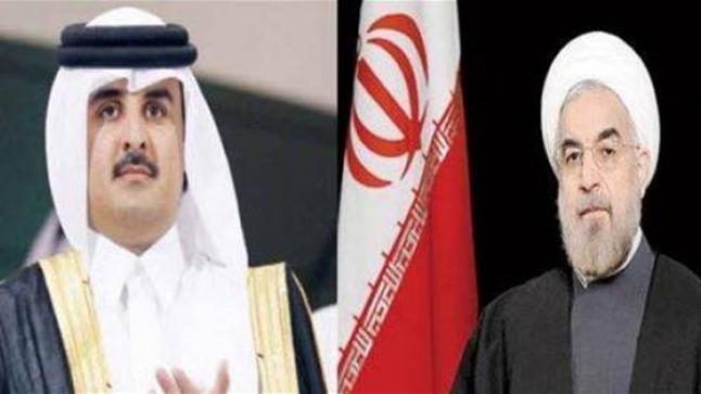 إيران تفتح مجالها الجوي أمام طيران قطر أستفزازاً للدول العربية