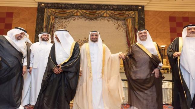 شاهد بالصور…الإحتفال بزفاف المهندس حمزة نجل مدير جامعة الباحة