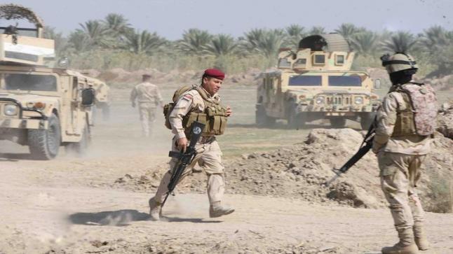 القوات العراقية تواصل عملياتها في جنوب شرق مدينة الموصل