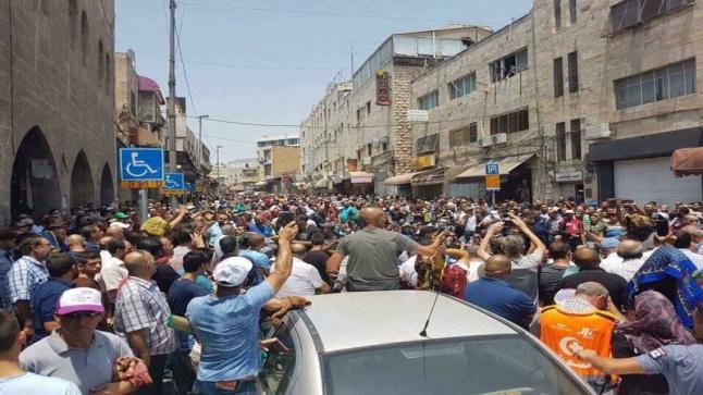 بالصور..قوات الإحتلال الإسرائيلي تمنع الفلسطينين من أداء صلاة الجمعة بالقدس للمرة الثانية