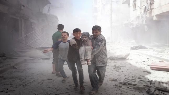 قصف متواصل على مدينة حلب وإشتباكات عنيفة في جنوبها