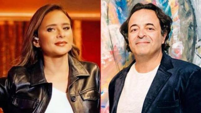 (بالصور) نيللي كريم تعلن عن خطوبتها على صديق عمرو دياب رجل الأعمال عمر إسلام