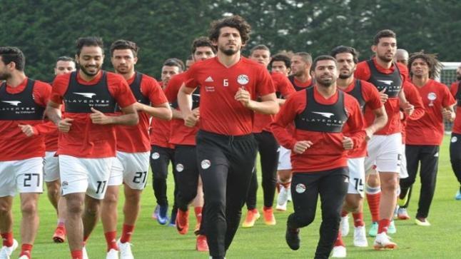 تشكيل المنتخب المصري المتوقع اليوم لمباراة بلجيكا