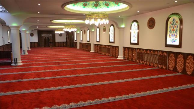 افتتاح مبنى جديد لمسجد تابع لوقف الديانة التركي في الدنمارك