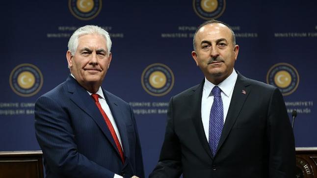وزير خارجية تركيا يبحث مع نظيره الأمريكي ترتيبات زيارة أردوغان إلى واشنطن