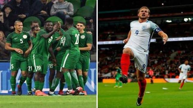 موعد مباراة إنجلترا ونيجيريا الودية اليوم استعدادا لكأس العالم