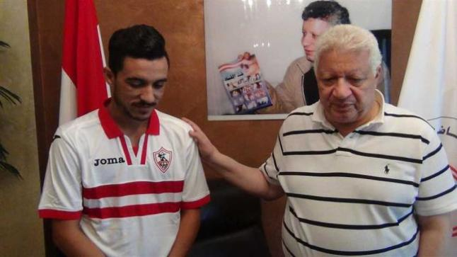 عقد إبراهيم حسن مع الزمالك ممتد لمدة 4 مواسم والإسماعيلي سيحصل علي أموال ولا عبين