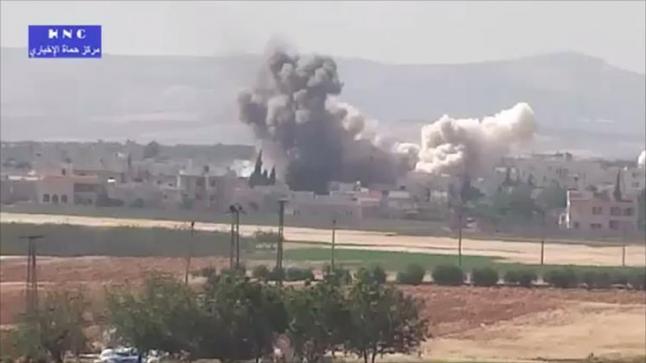 """نظام بشار الأسد يواصل خرق اتفاق """"مناطق تخفيف التوتر"""""""