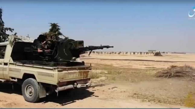 اشتباكات بمدينة الطبقة بين تنظيم الدولة وسوريا الديمقراطية وسقوط قتلى