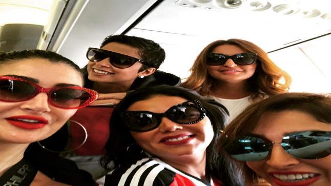 هل تصالحت غادة عبد الرازق مع رانيا يوسف بعد خلافاتهم الحادة؟ شاهد بالصور