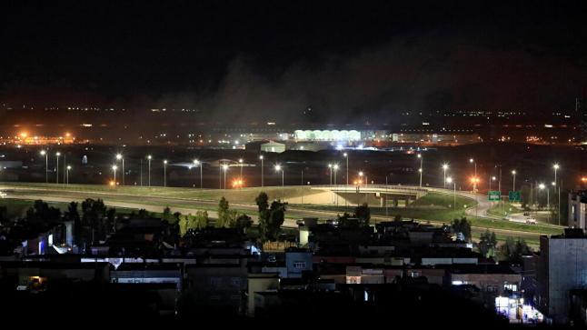تفاصيل جديدة الاستهداف الصاروخي لمطار أربيل