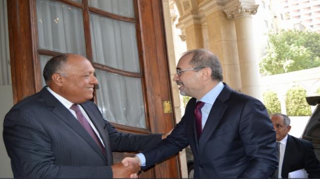 وزيرا الخارجية الأردني والمصري يصلان العراق اليوم لحضور القمة الثلاثية