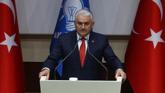 يلدرم يعلن عن ترشيح الرئيس التركي للعودة لرئاسة العدالة والتنمية