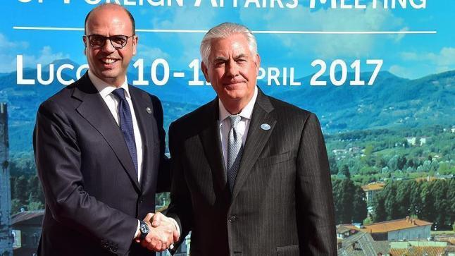 وزراء خارجية الدول السبع يناقشون الأزمة السورية بحضور إقليمي