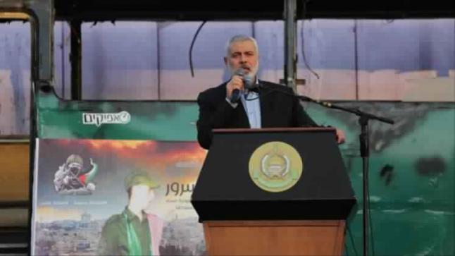 الفصائل الفلسطينية ترحب بفوز هنية برئاسة حماس وتأمل في إنهاء الإنقسام