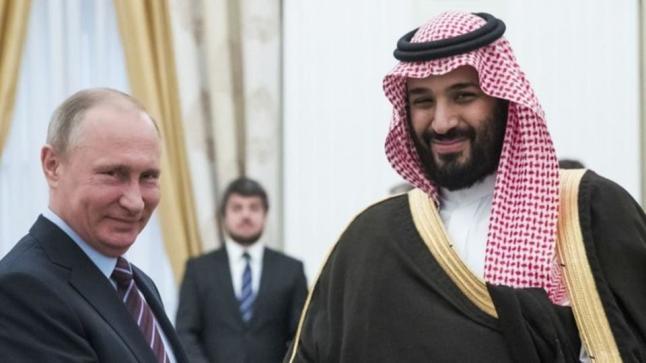 ولي عهد المملكة يبحث تطورات أسواق النفط خلال اتصال هاتفي مع الرئيس الروسي