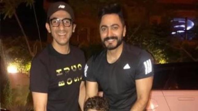 تامر حسني يتعاون مع أحمد حلمي في فيلم جديد بعد 13 عام من الغياب