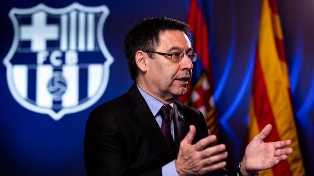 رسميًا.. بارتوميو يُعلن استقالته من رئاسة نادي برشلونة الإسباني