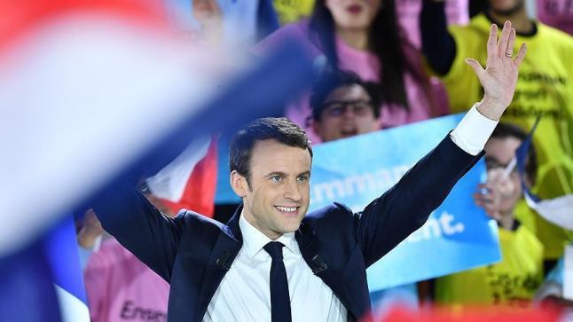 الداخلية الفرنسية تعلن فوز ماكرون بنسبة 66.06% من أصوات الناخبين