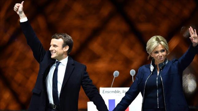 منظمات إسلامية في فرنسا تهنئ الرئيس الفرنسي الجديد إيمانويل ماكرون