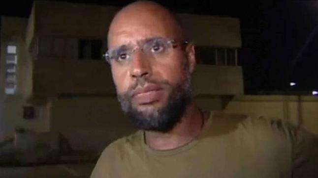 تخوفات دولية من تعرض نجل القذافي للاغتيال بمحبسه في ليبيا