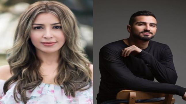 جنات ومحمد الشونوبي يغنيان دويتو تتر أغنية مسلسل بخط الإيد