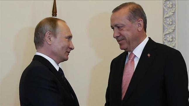 سوتشي تشهد خامس لقاء يجمع أردوغان وبوتين منذ أزمة الطائرة الروسية