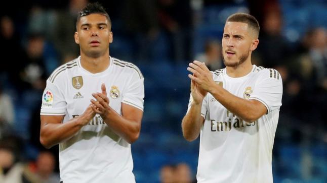 ريال مدريد يُعلن إصابة هازارد وكاسيميرو بفيروس كورونا