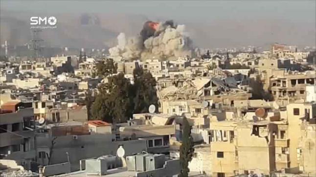 انهيار مفاوضات حي القابون بين النظام والمعارضة السورية وتجدد الاشتباكات
